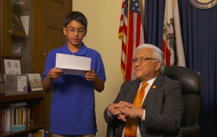 Rep. Mike Honda, right, spent the first few years of his life in a so-called internment camp.