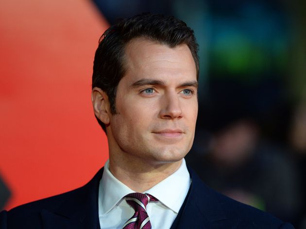 Henry Cavill appears to take any remarks about his physical appearance with a pinch of