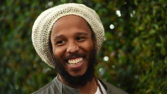 LOS ANGELES, CA - APRIL 26:  Musician Ziggy Marley arrives at the 12th Annual John Varvatos Stuart House Benefit at John Varvatos on April 26, 2015 in Los Angeles, California.  (Photo by Amanda Edwards/WireImage)