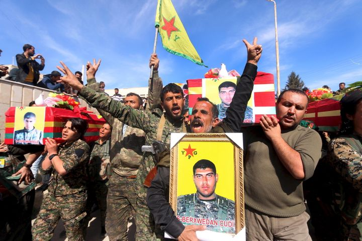 Kurdish fighters have won multiple victories against ISIS.