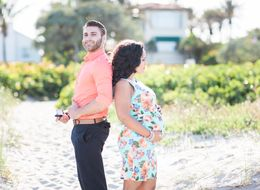 This Mom-To-Be Got The Sweetest Surprise During Her Maternity Shoot