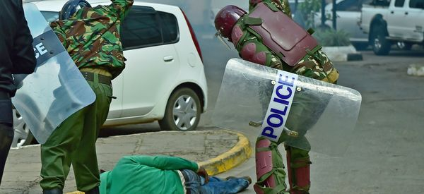 The Uncertain Fate Of The Man In The Police Brutality Image That Shocked Kenya