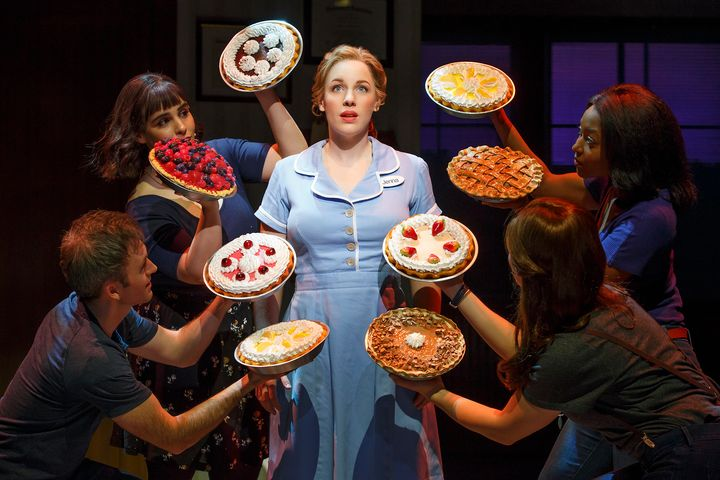 """Waitress,"" starring Jessie Mueller, is Broadway's first show helmed by an all-female creative team."