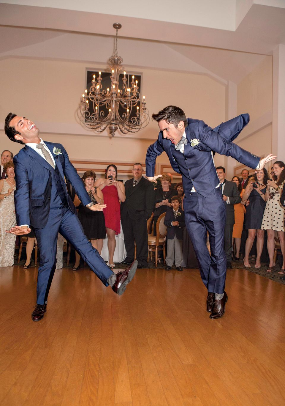 """<strong>""""We chose the Dean Martin classic 'Just in Time' as our first dance. It had the elegant feel we were looking for, and"""