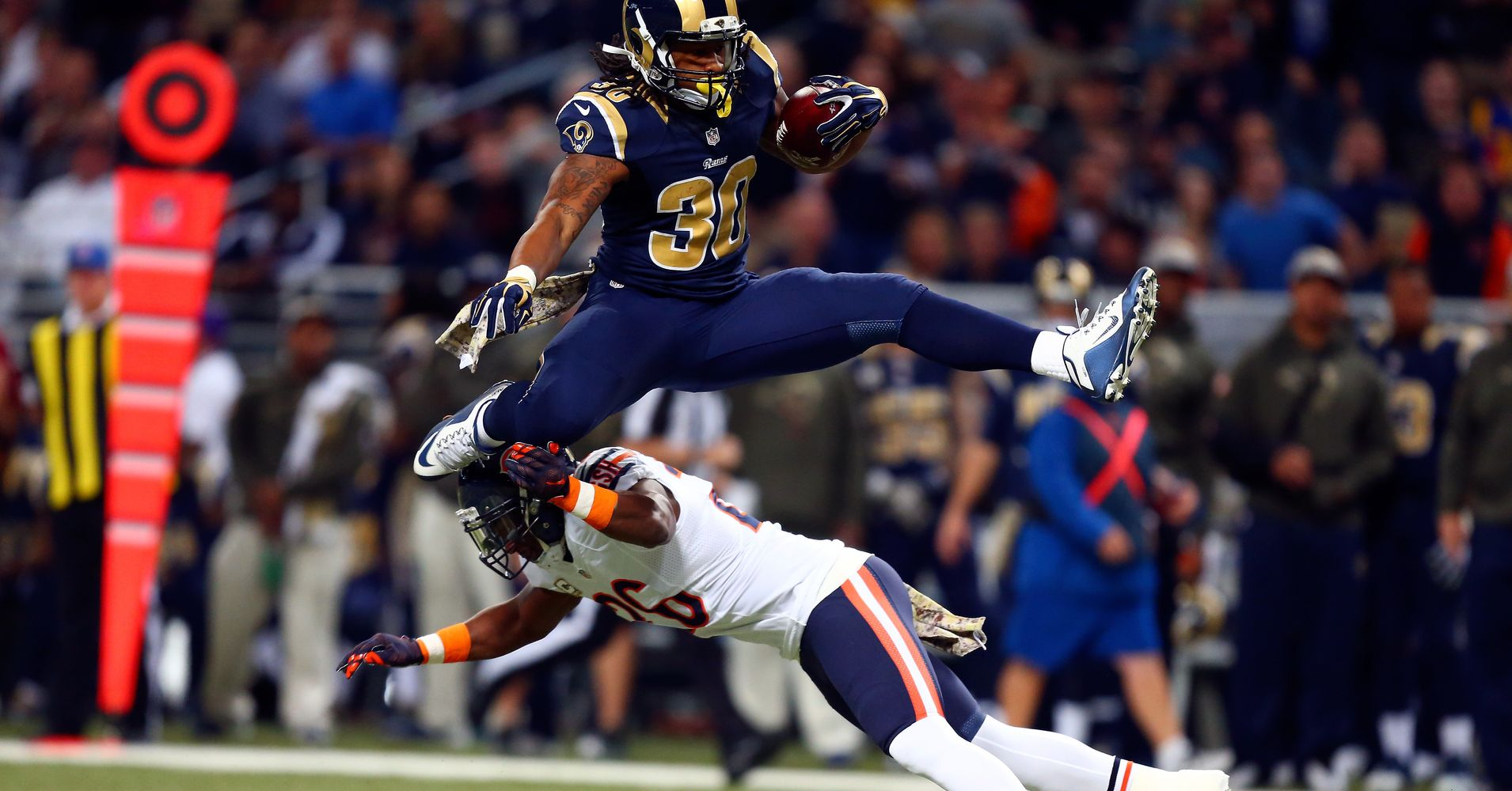 A resurgence in 2017 has given the Rams high expectations for 2018 Running back Todd Gurley says that he and his teammates arent paying attention to that