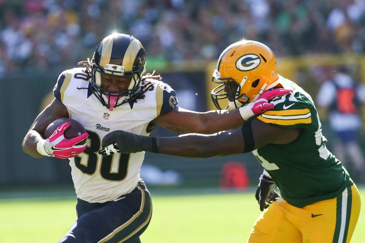 """Gurley tells HuffPost: """"I've had a chance to have a real offseason, rest my body, and now I'm back moving around"""