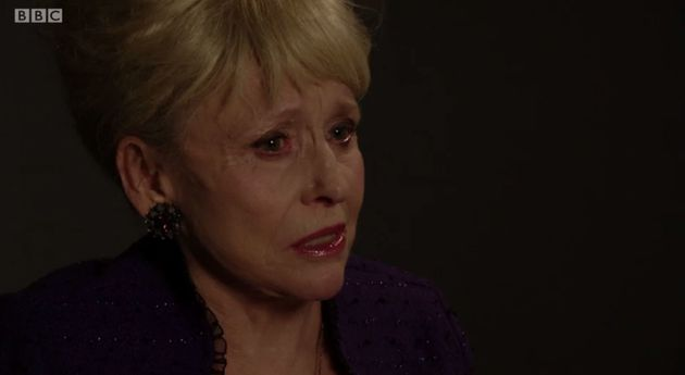 Peggy Mitchell ended her life in Tuesday's