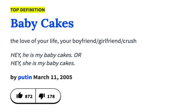 Urban Dictionary's definition of