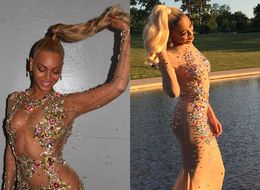 Girl Recreates Beyoncé's Met Gala Look At Her Prom, Nails It