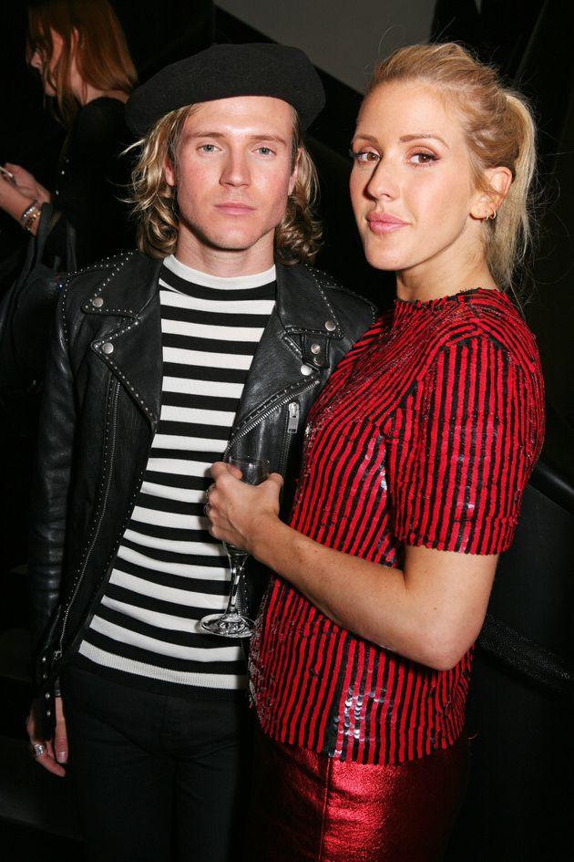 Ellie split from McFly's Dougie Poynter last