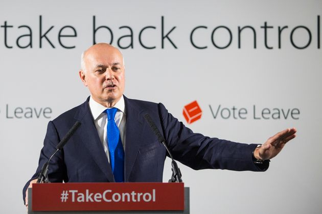Iain Duncan Smith Lets Rip As Tory Civil War On Europe Reignites Over Queen's