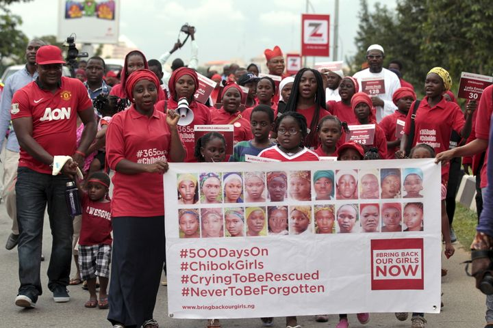 Boko Haram seized 276 girls from their school in Chibok, northeast Nigeria, in April 2014. Dozens escaped in the aftermath, b