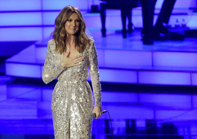 Celine has returned to Las Vegas where she has a residency at Caesar's