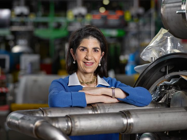 Fabiola Gianotti, CERN's new director-general