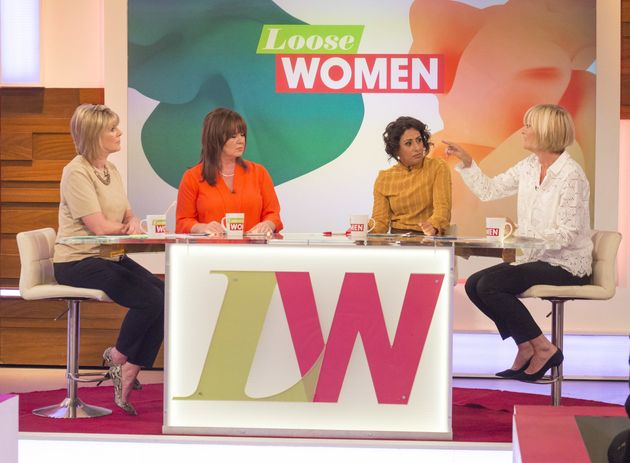 'Loose Women' Star Saira Khan Reveals She Is So Uninterested In Sex That She's Given Her Husband Permission...
