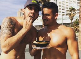 This Entire Instagram Account Is Dedicated To Hot Dudes Eating Hummus