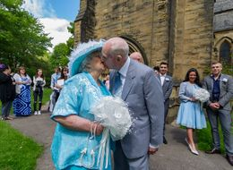 Couple Finally Wed After 44 Years Of Dating