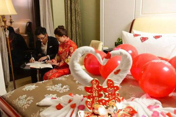The couple's employer, state-owned Nanchang Railway Bureau, has been getting its employees to copy out the Chinese constituti
