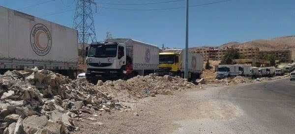 Aid Groups Deliver Life-Saving Supplies To 10,000 Syrians Under Government Siege