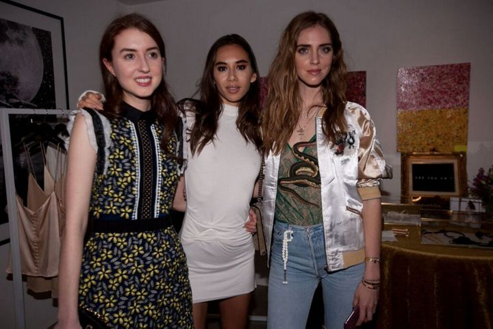 """Marrakech Meets California"" hosts artist Isabella Huffington and designer Rumi Neely with blogger Chiara Ferragni at the Mar"