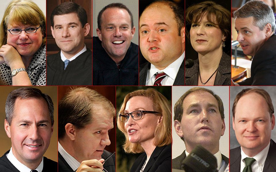 These are the judges Donald Trump would like to see on the U.S. Supreme Court.