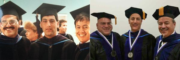 """<i>""""In the late '80s, we all met during law school. We studied together throughout school and for the bar exam. Since graduat"""