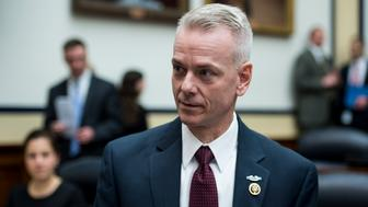 UNITED STATES - MARCH 18: Rep. Steve Russell, R-Okla., participates in the House Armed Services Committee hearing on 'The President's Proposed Authorization for the Use of Military Force Against ISIL and the FY2016 National Defense Authorization Budget Request from the Department of Defense' on Wednesday, March 18, 2015. (Photo By Bill Clark/CQ Roll Call)