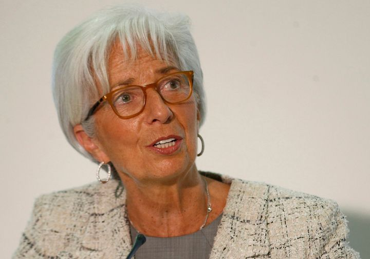 International Monetary Fund Managing Director Christine Lagarde. The IMF is demanding that Europe give Greece debt relie