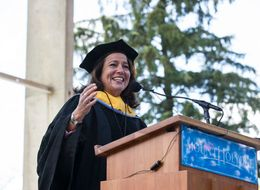 Mount Holyoke Commencement Speaker Thanks Activist For Their 'Disruption'