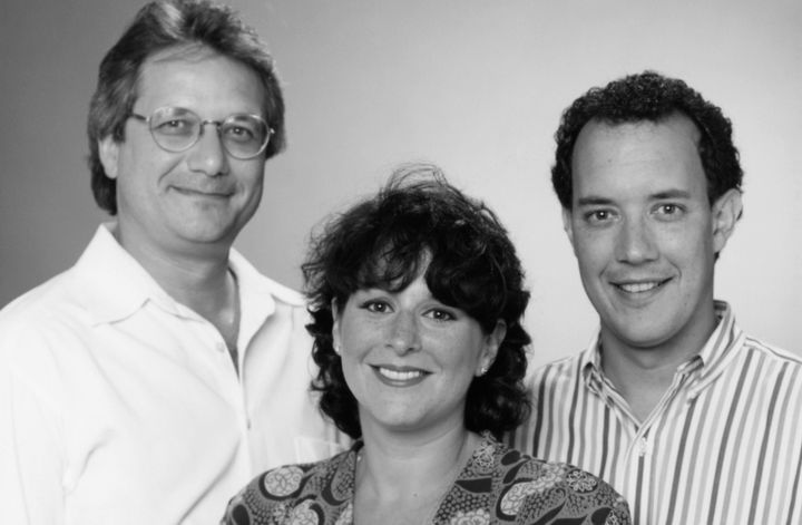 "Executive Producers of ""Friends"" -- Kevin S. Bright, Marta Kauffman and David Crane."