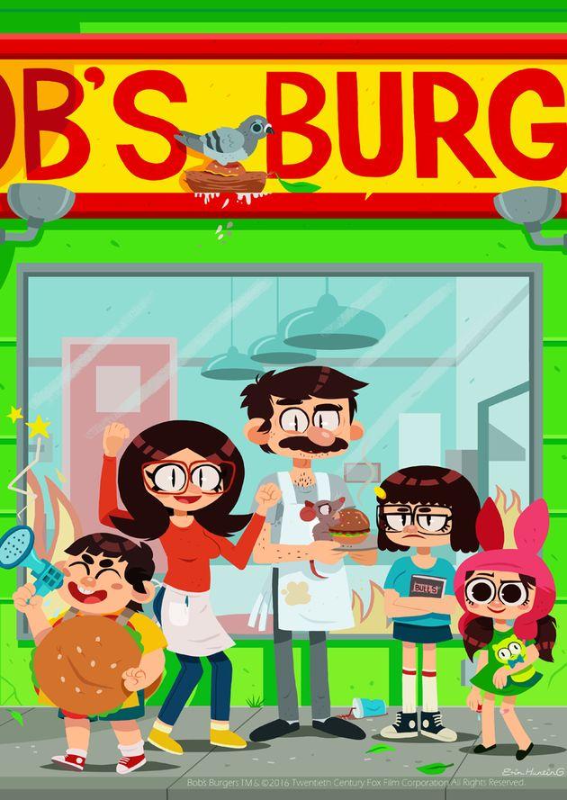 Uhhh This Bob S Burgers Fan Art Would Make Tina Proud Huffpost