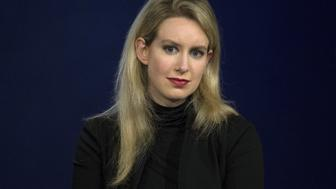 Elizabeth Holmes, CEO of Theranos, attends a panel discussion during the Clinton Global Initiative's annual meeting in New York, September 29, 2015.  REUTERS/Brendan McDermid