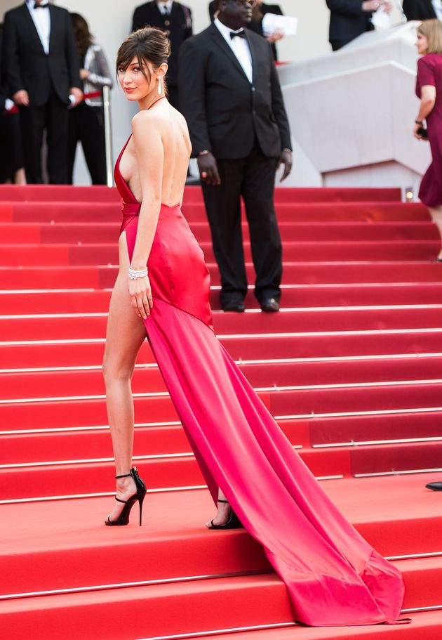 Cannes 2016: Bella Hadid's Take On The Nearly-Naked Trend Is The Most Revealing