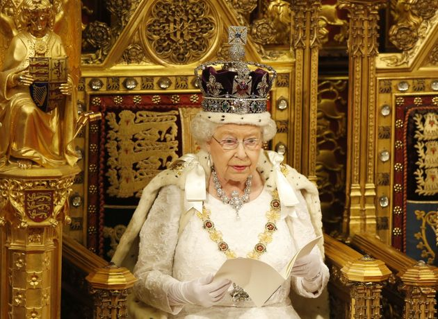 Her Majesty delivering the 2016 Queen's