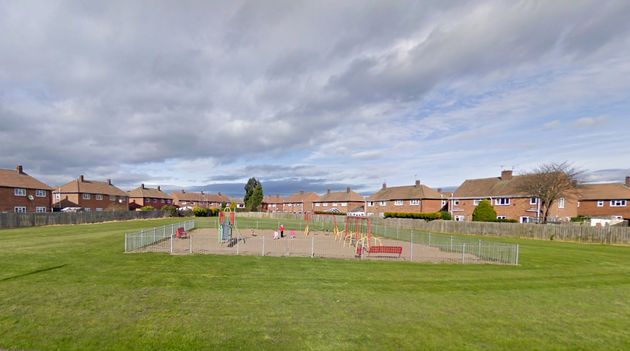 The children were attacked in a park on Burns Avenue in