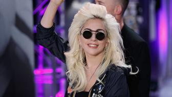 NEW YORK, NY - MAY 04:  Lady Gaga launchs Love Bravery Collection at Macy's Herald Square at Macy's Herald Square on May 4, 2016 in New York City.  (Photo by John Lamparski/WireImage)