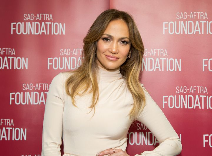 Jennifer Lopez attends SAG-AFTRA Foundation Conversations with Jennifer Lopez for 'Shades Of Blue' on April 21, 2016 in Los A