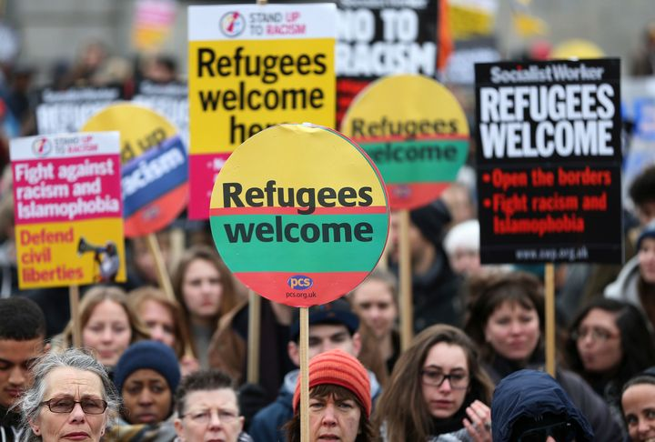 China, Germany and Britain are the countries most welcoming to refugees, according to an Amnesty International survey recordi
