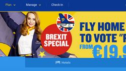 Ryanair Will Fly Expats Home Cheap If You Vote 'Remain' In EU