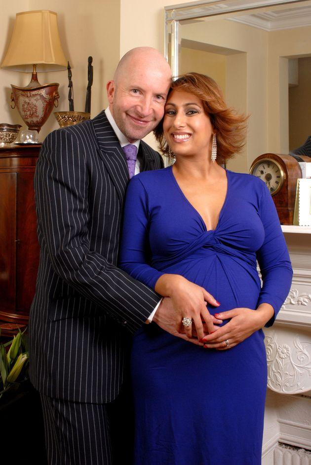 Saira and her husband, Steven Hyde, in