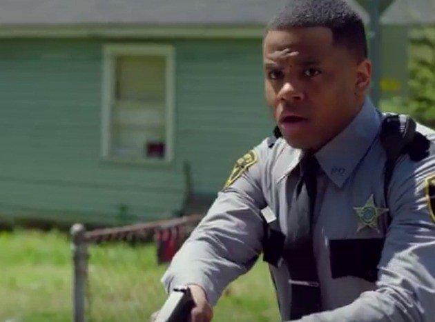 Crooked cop slammed