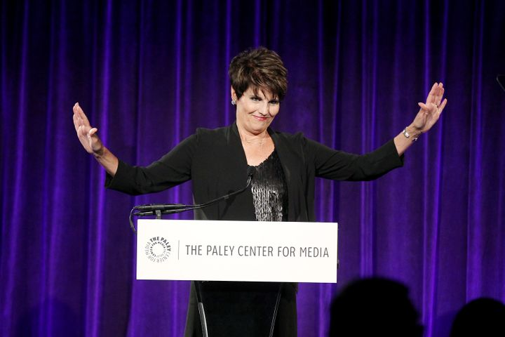 """Lucie Arnaz honored her father, Desi Arnaz, at thePaley Center for Media's """"Tribute to Hispanic Achievements in Televis"""