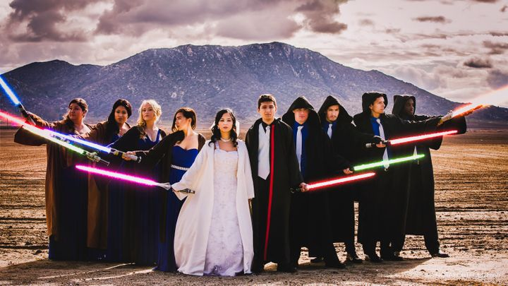 This Couple Pulled Off A Star Wars Themed Wedding On A 5k Budget