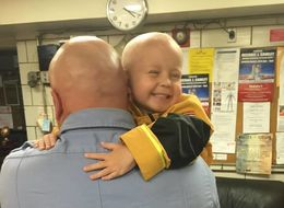 This Boy Fighting Cancer Will Be Sworn In As An FDNY Firefighter
