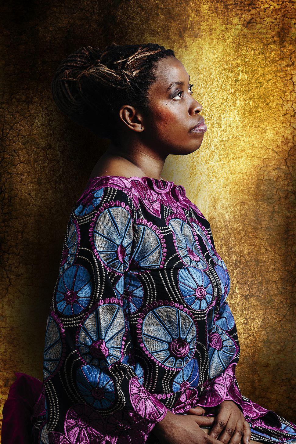 Christelle Ahouefa Beninese appartient à la tribu Popo.