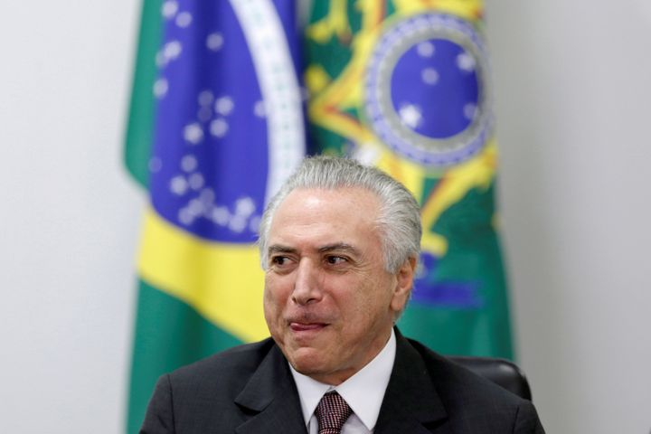 Brazil's interim President Michel Temer, 75, has been widely criticized for selecting an all-white, all-male cabinet. He has