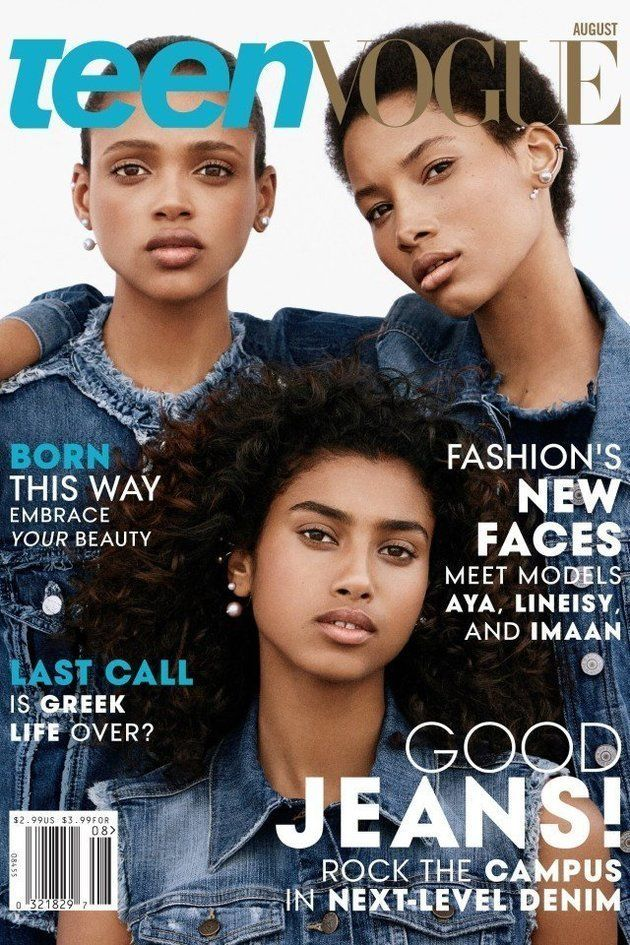 Teen Vogue's August 2015 cover