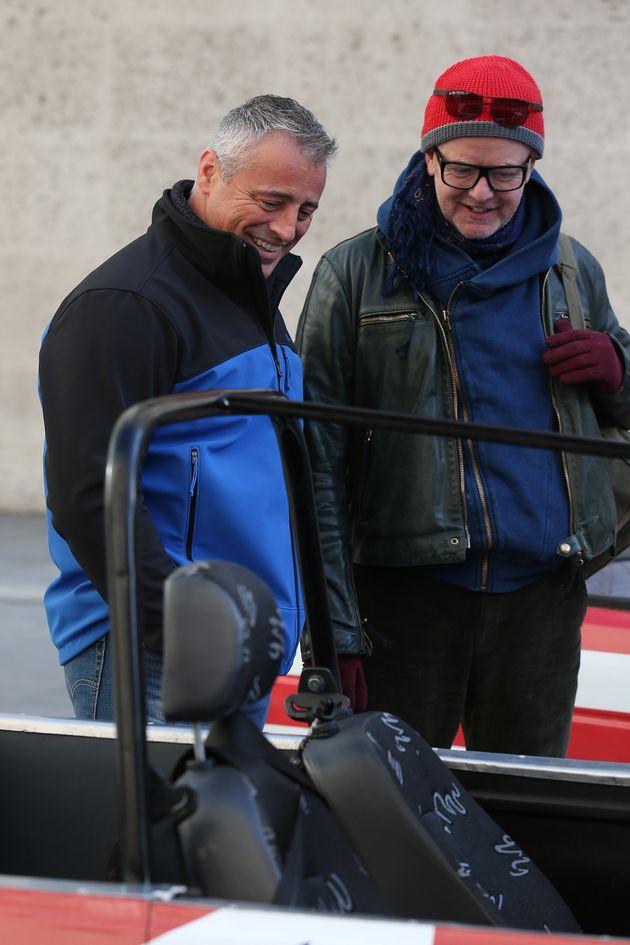 'Top Gear' hosts Matt LeBlanc and Chris