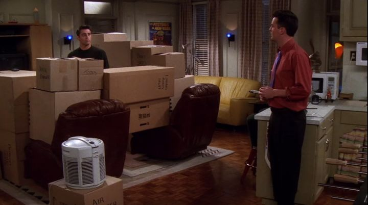 I don't definitively know if Leslie Litt's boxes looked like Joey's fort.
