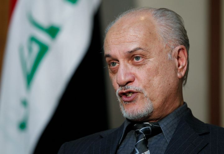 Al-Jibouri provided access to Iraqi politicians like Hussain al-Shahristani (pictured above), who could steer energy contract